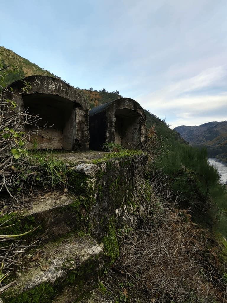 encoros Galicia - carretera Santo Estevo