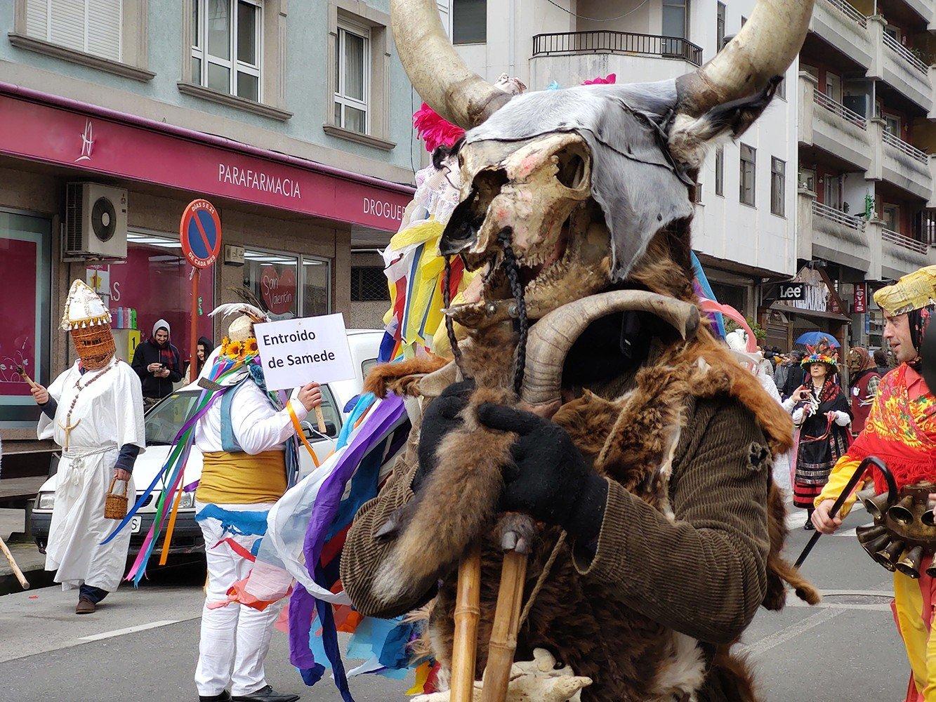 Entroido Ribeirao Chantada, Fiestas de Galicia