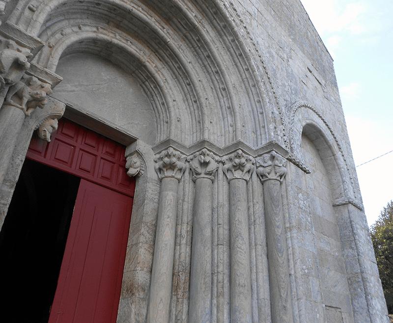 Iglesia Románica San Paio de Diamondi Ruta Belesar