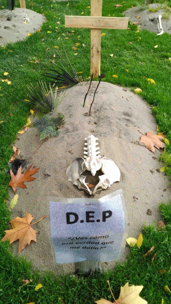 decoración Halloween Samaín